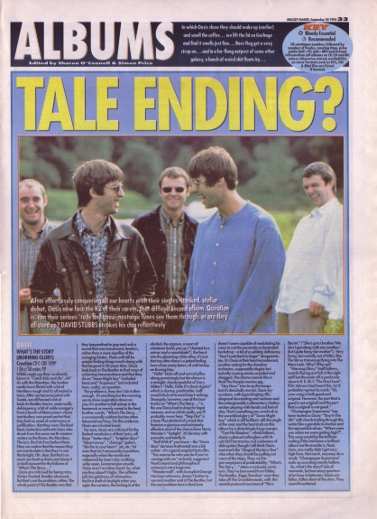 David Stubbs reviews What's the Story Morning Glory, 30th September 1995