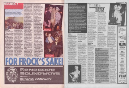 Live clubs, Vague, Sabresonic, Megatripolis, Open All Hours, 22nd December 1994