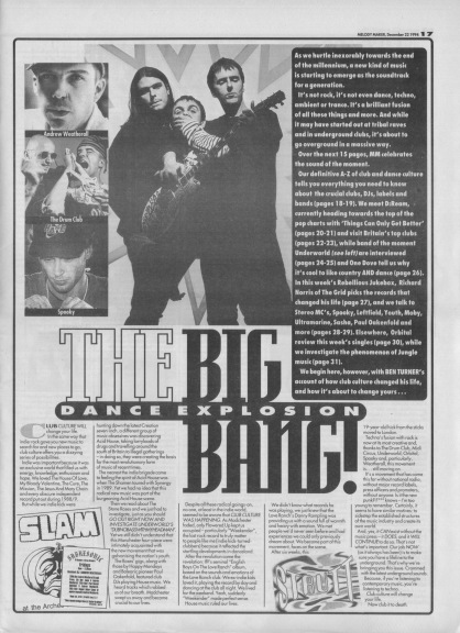 The Big Dance Explosion Bang, 22nd January 1994