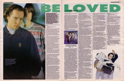 The Stud Brothers interview The Beloved, 27th January 1990