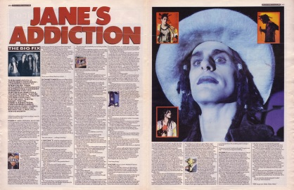 Chris Roberts interviews Jane's Addiction, 21st January 1989