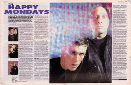 The Stud Brothers interview The Happy Mondays part 1, 31 March 1990